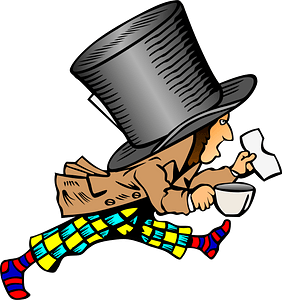 Mad Hatter clipart