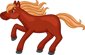Mustang clipart