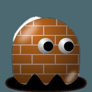 Game baddie: bricky clipart