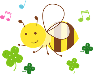 Honey bee clipart