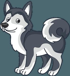 Husky clipart