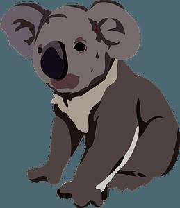 Koala animal clipart