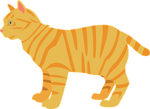 Tabby Cat clipart