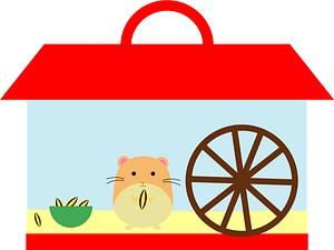 Hamster animal clipart