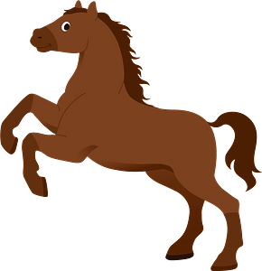 Horse animal clipart