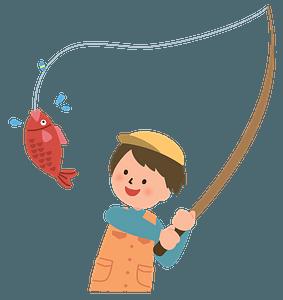 Клипарт Man fishing
