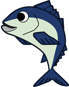 Fish animal clipart