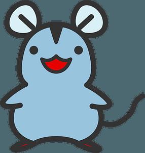 Blue Mouse clipart