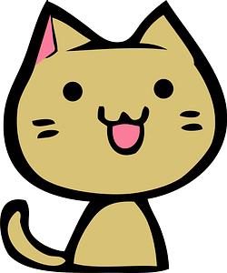 Funny Smiling Cat 클립 아트