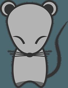 Zodiac Rat clipart