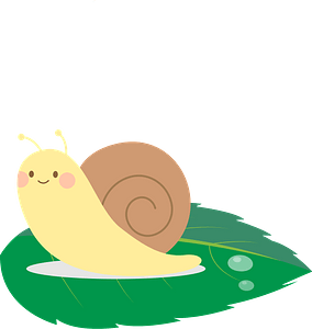 Snail animal clipart