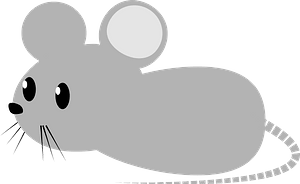 Grey Mouse clipart