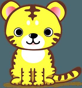 Tiger Cub 클립 아트