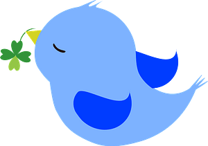 Blue bird 클립 아트