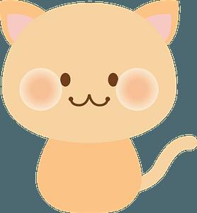 Cut Smiling Cat 클립 아트