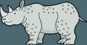 Rhinoceros 클립 아트