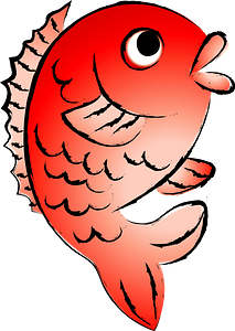 Sea bream fish clipart