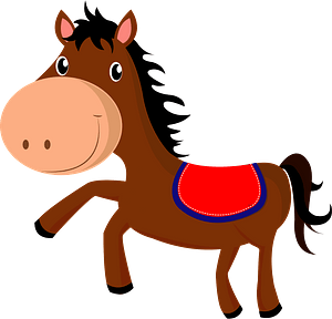 Horse animal clipart
