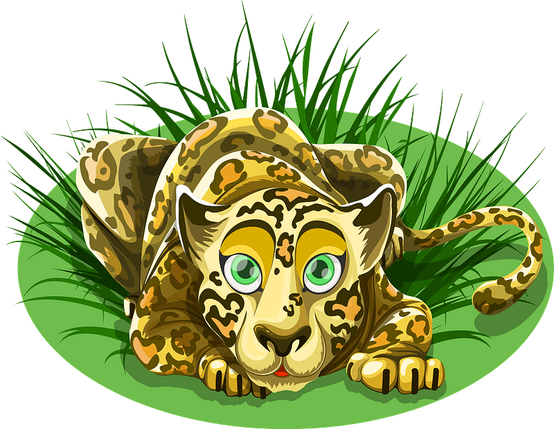 Leopard animal 클립 아트