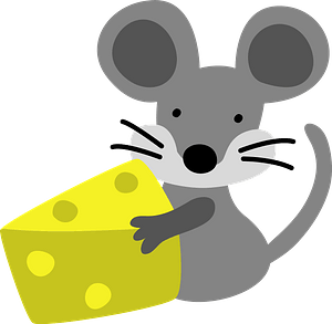 Mouse with Cheese 클립 아트