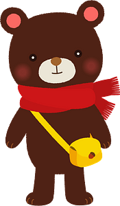 Bear animal clipart