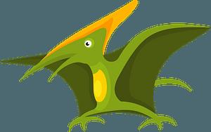 Pteranodon dinosaur clipart