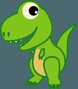 Tyrannosaurus dinosaur clipart