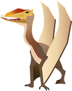 Dimorphodon dinosaur clipart