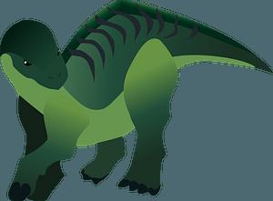 Iguanodon dinosaur clipart