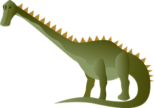 Nigersaurus dinosaur clipart