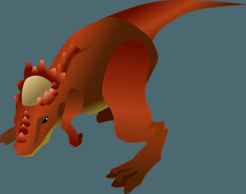 Pachycephalosaurus dinosaur clipart. Free download ...