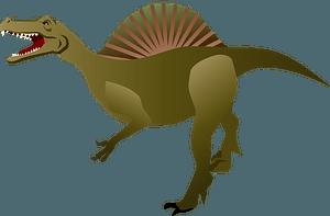Spinosaurus dinosaur clipart