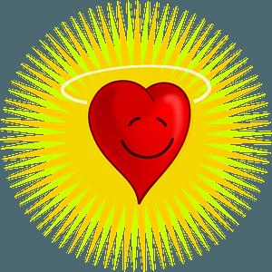 Happy heart clipart