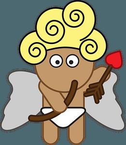 Cartoon cupid clipart