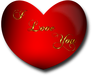 Heart I Love You clipart