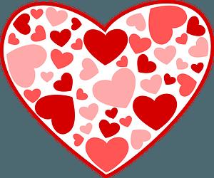 Heart of hearts clipart