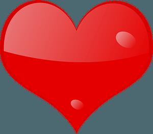Heart-shine clipart