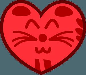 Cat-Heart кліпарт