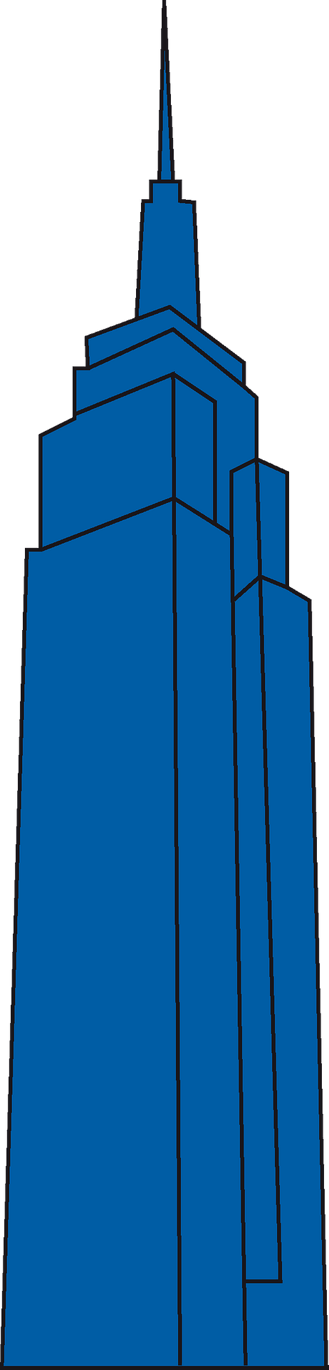 Empire State Building Clipart Icons PNG - Free PNG and Icons Downloads