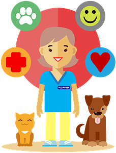 Pet therapy clipart