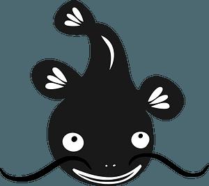 Poisson-chat clipart