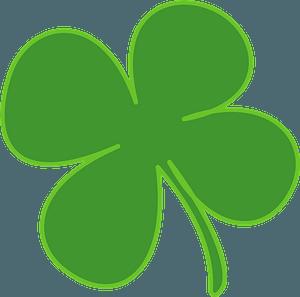 Four-leaf clover clipart