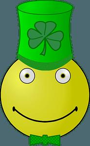 Saint Patrick's Day smiley clipart