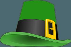 Leprechaun's hat clipart