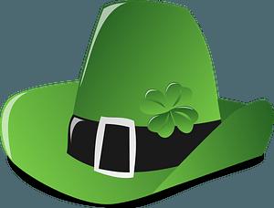 Saint Patrick's Day hat clipart