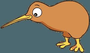 Kiwi bird clipart