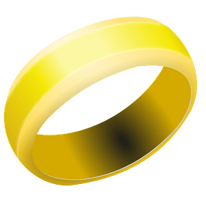 Gold Wedding Band clipart