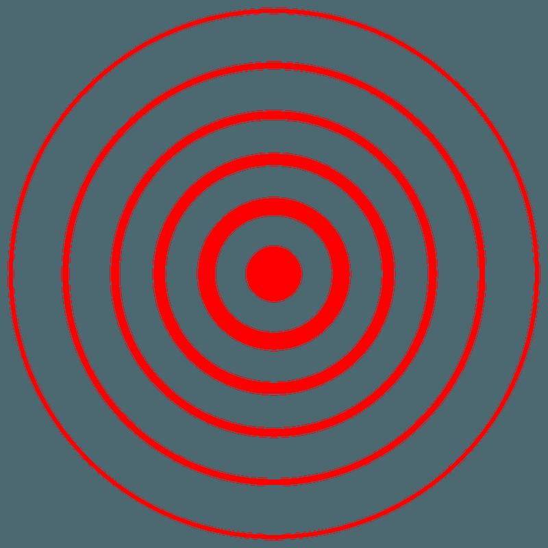 Earthquake Symbol On A Map