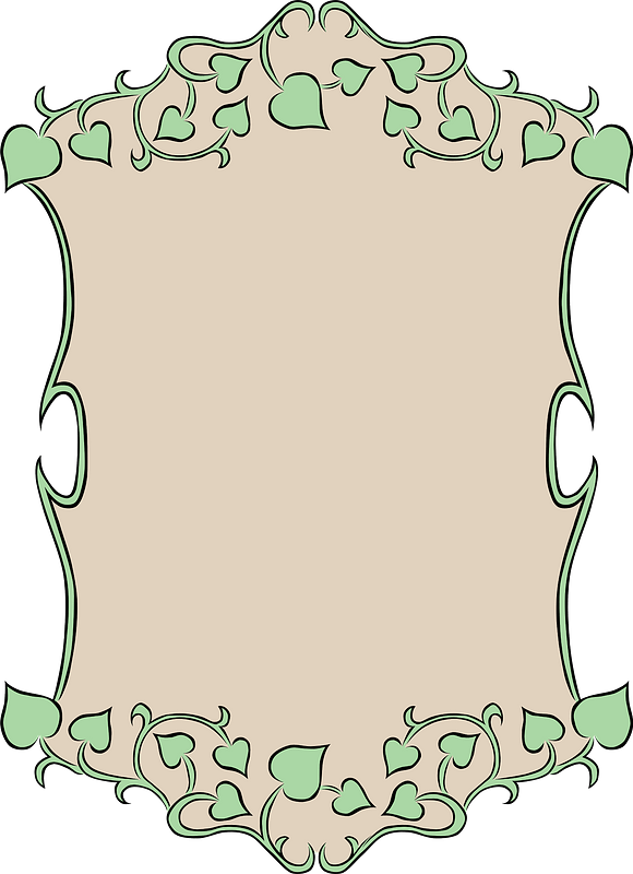 Small - Ivy Border Clip Art Transparent PNG - 276x592 - Free Download on  NicePNG