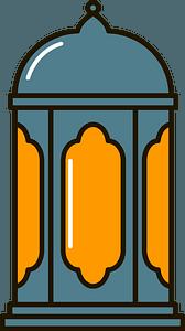 Ramadan lantern clipart
